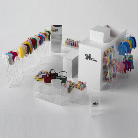 Issey miyake concept store designed by nendo japanese design for Design shop 24