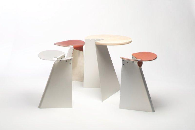 Stackable stool by Hironori Tsukue 1
